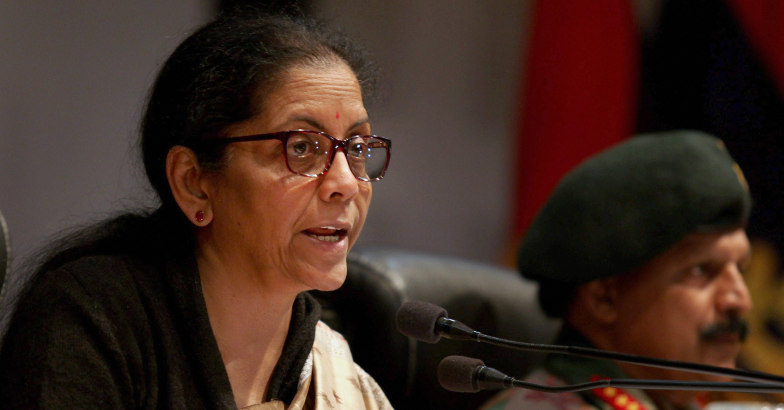 Nirmala Sitharaman decides to induct women in military police