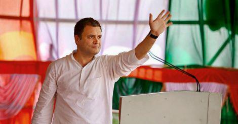 BJP leader Sriramulu bribed ex-CJI, alleges Rahul ahead of Karnataka polls