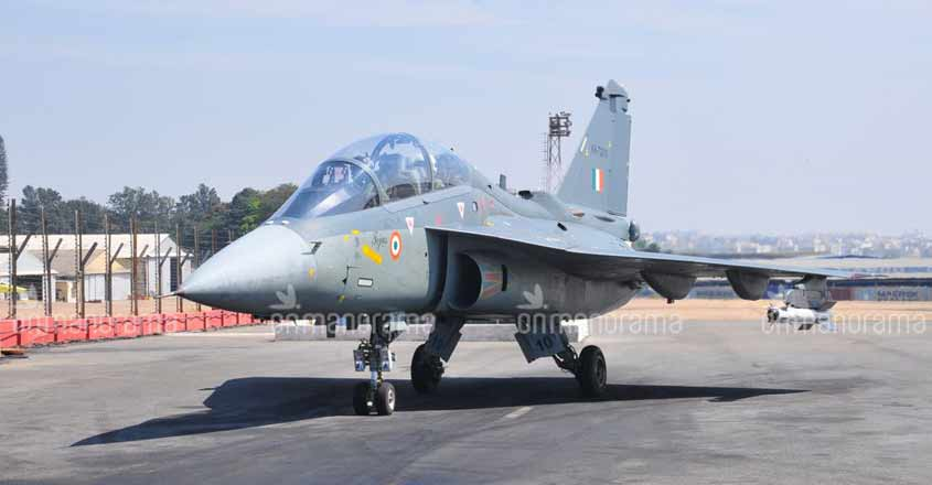 Tejas begins the sky party at AFS Sulur