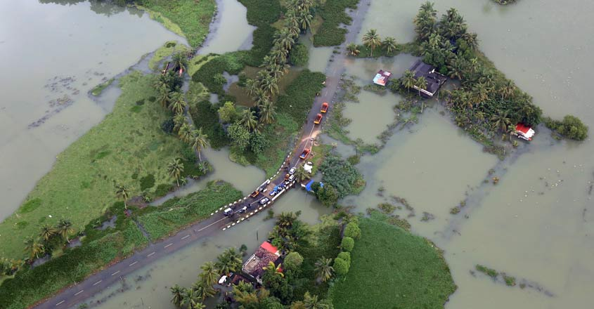 Floods don't know any borders as Kerala and Carolinas proved
