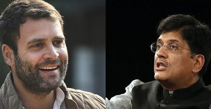 Rahul slams Goyal for mocking Nobel-winner Abhijit