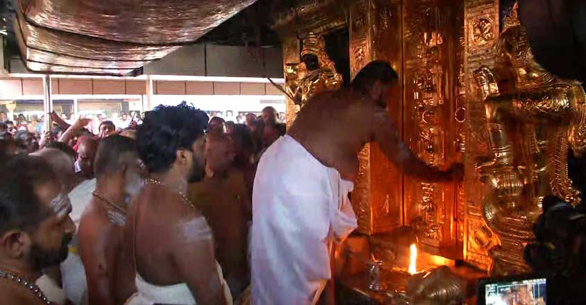 Sabarimala temple earns Rs 156 cr revenue in first phase of pilgrim season