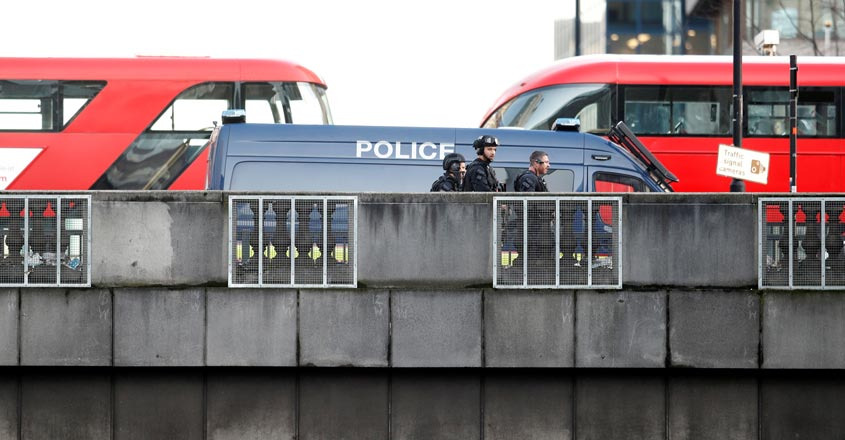 Man shot dead by London police after several people stabbed in terrorist attack
