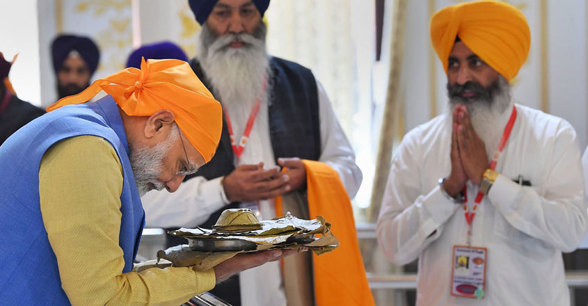 Kartarpur corridor: PM Modi thanks Imran for timely opening of Kartarpur corridor