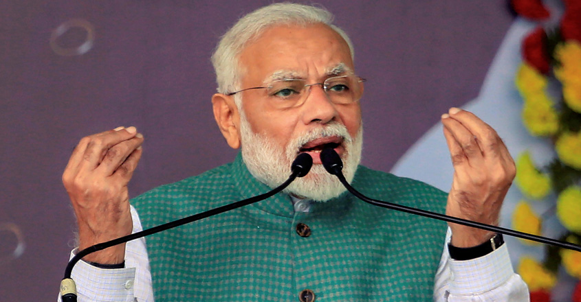 Those indulging in arson 'can be identified by their clothes': Modi on anti-CAA protest