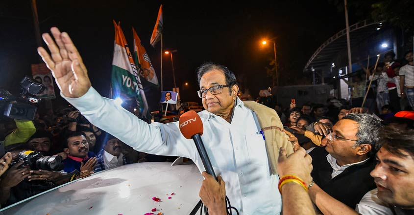 Chidambaram gets bail, walks out of Tihar jail after 105 days in custody