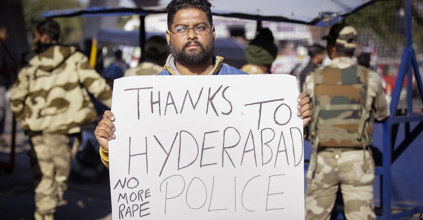 Hyderabad encounter: Social media, activists divided on killing of 4 rape accused