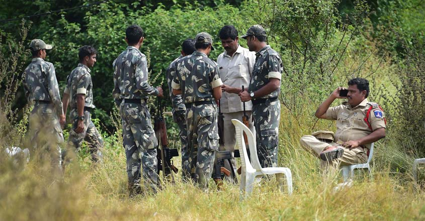 NHRC begins on-the-spot probe into Hyderabad 'encounter' killings