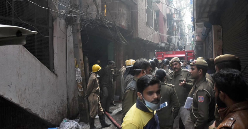 Death toll in Delhi factory fire climbs to 43