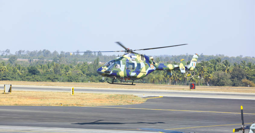HAL's Light Utility Helicopter to prove its mettle at plane carnival