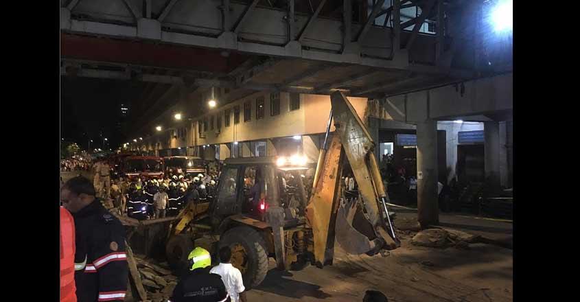 Week after building collapse, Mumbai battles fire near Taj