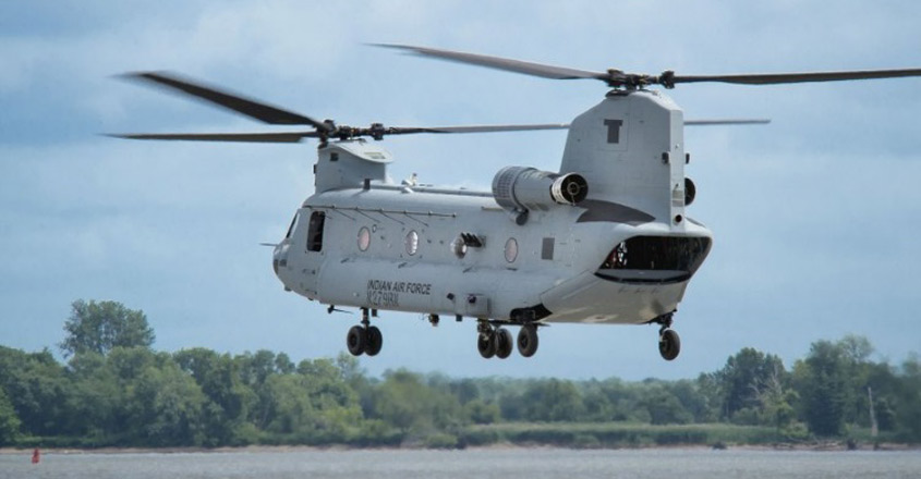 IAF to induct first batch of Chinooks on March 25