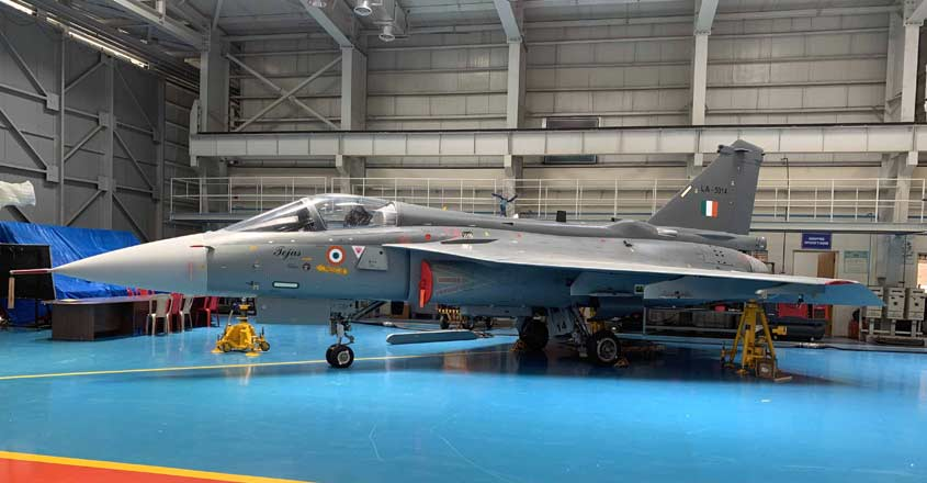 Tejas flies on L&T wings as HAL completes production of last IOC fighter