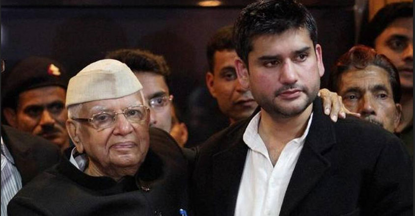 ND Tiwari's son smothered to death, police files murder case