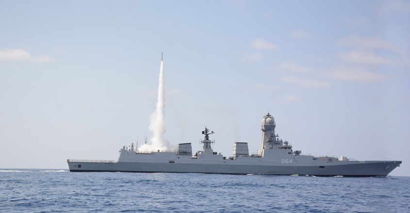 Navy conducts MRSAM trials successfully
