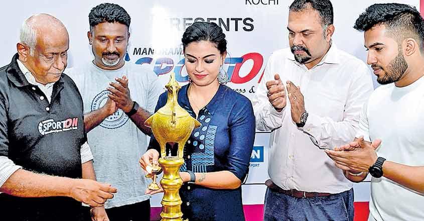 Manorama 'SportOn' fair now on in Kochi