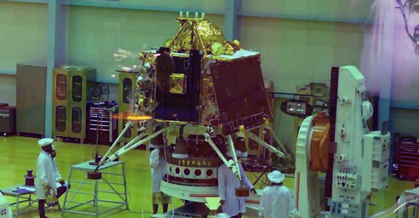 Naari Shakti powers India's Chandrayaan-2 mission