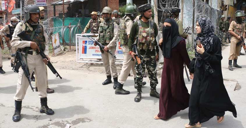 Kashmir on high alert after Pakistani intelligence inputs on terror attack