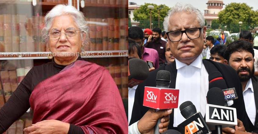 Premises of senior lawyer duo Indira Jaising, Anand Grover raided