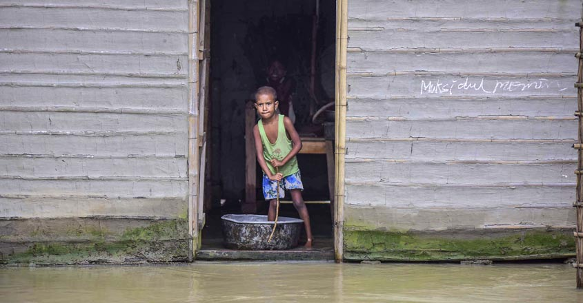 PM dials Sonowal on Assam flood; assures Centre's support