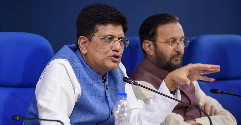 People rejected Abhijit Banerjee's Left-leaning ideology: Piyush Goyal