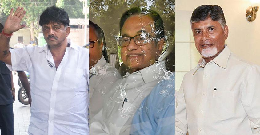 Chidambaram, DK Shivakumar, Chandrababu Naidu. Who's next?