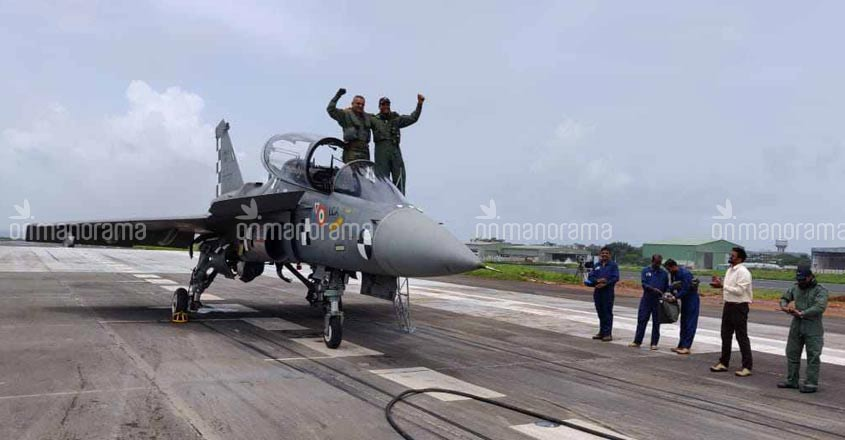 First arrested landing of Naval LCA successful | Video