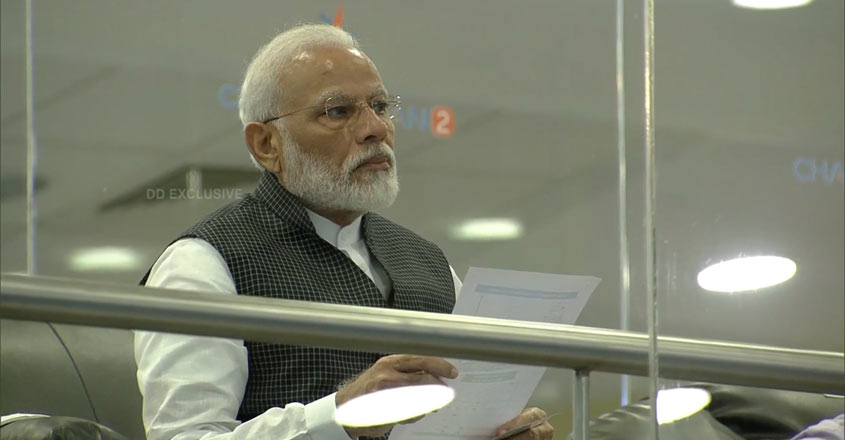 'Our courage has become stronger,' PM Modi tells ISRO scientists