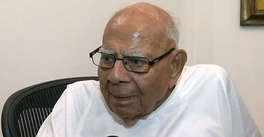 Eminent lawyer Ram Jethmalani passes away