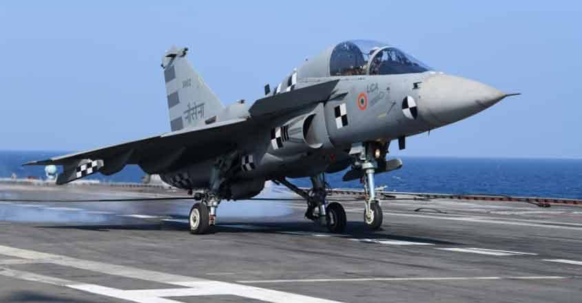 Naval LCA lands on board INS Vikramaditya, scripts history