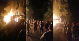 Tension at Assam-Mizoram border as many hurt in violent clash, Centre calls meet
