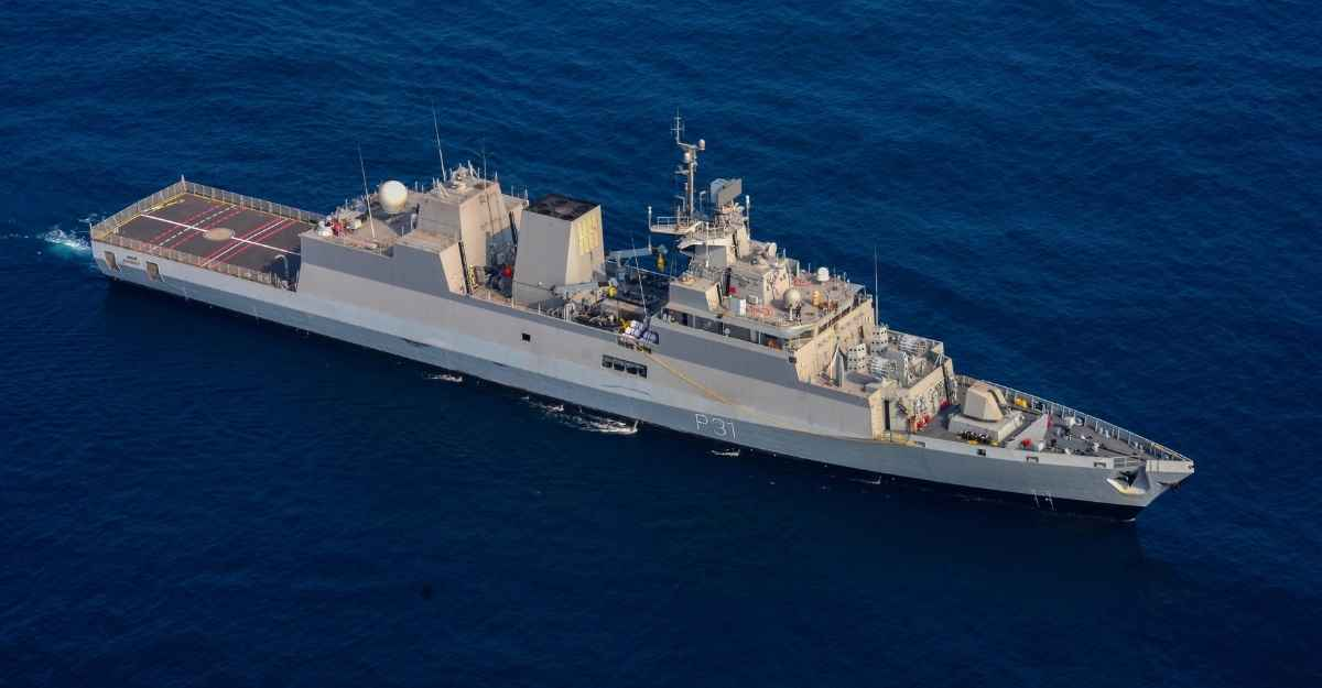 Stealth corvette INS Kavaratti commissioned into Indian Navy