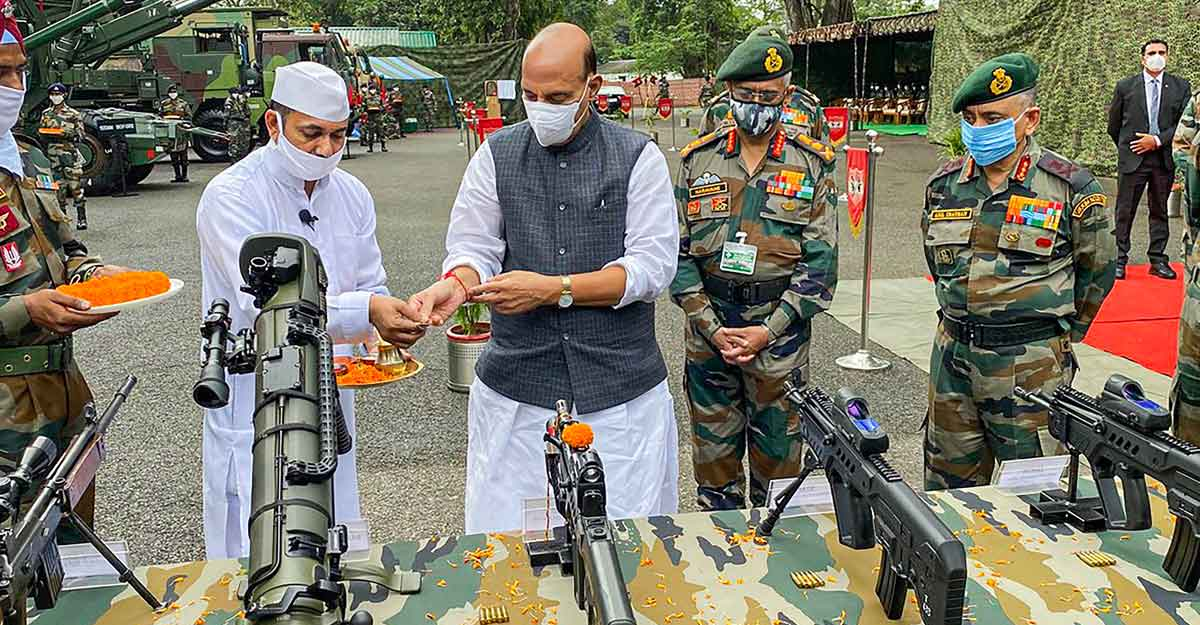 India wants end to border tension with China but will not cede an inch of land: Rajnath