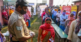 Bihar Assembly polls phase one: 33.10% turnout till noon