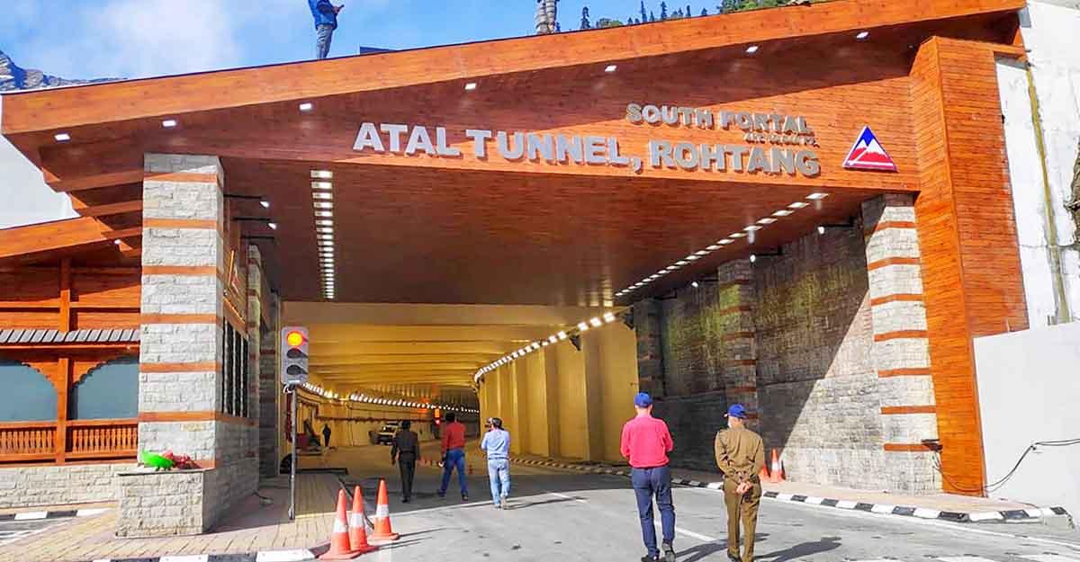 PM Modi inaugurates Atal Tunnel connecting Manali to Lahaul-Spiti valley
