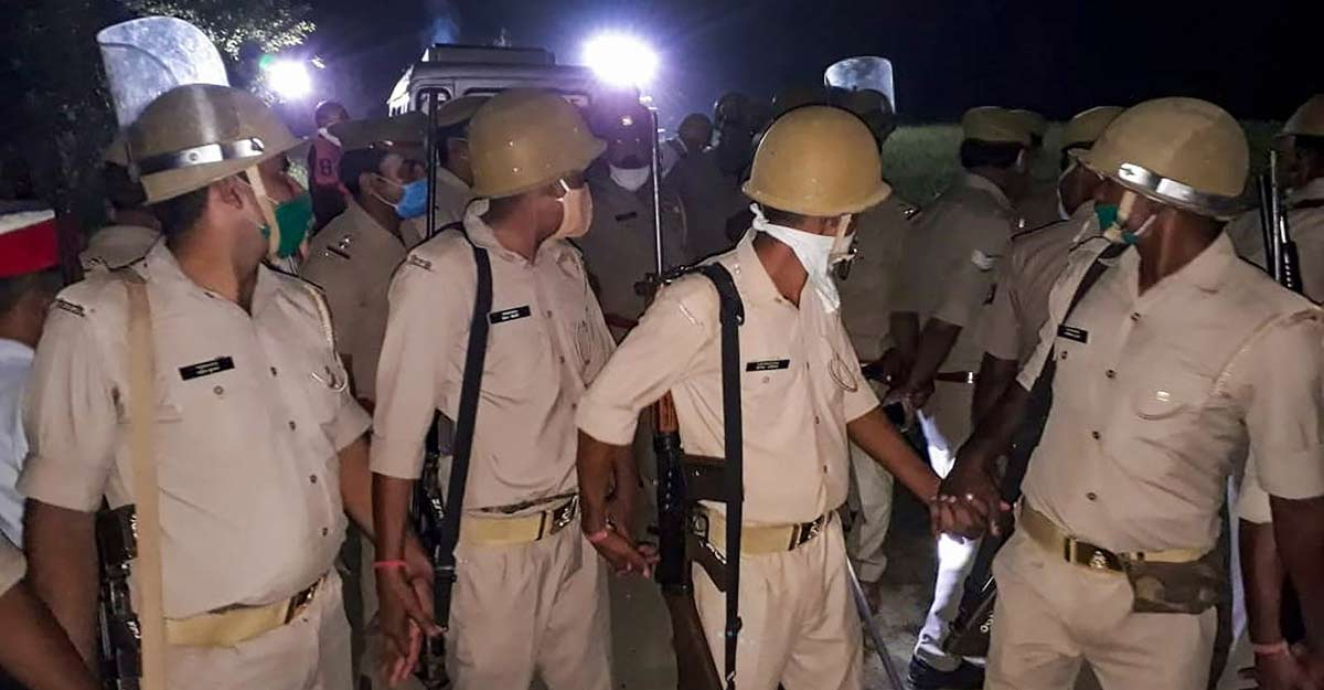 Hathras case: Accused defended at meeting held at former BJP MLA's residence