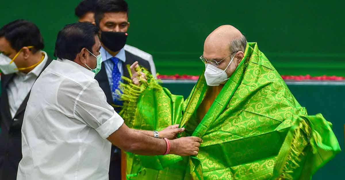 AIADMK says all is well in alliance with BJP as Amit Shah predicts end of 'dynastic' DMK in 2021