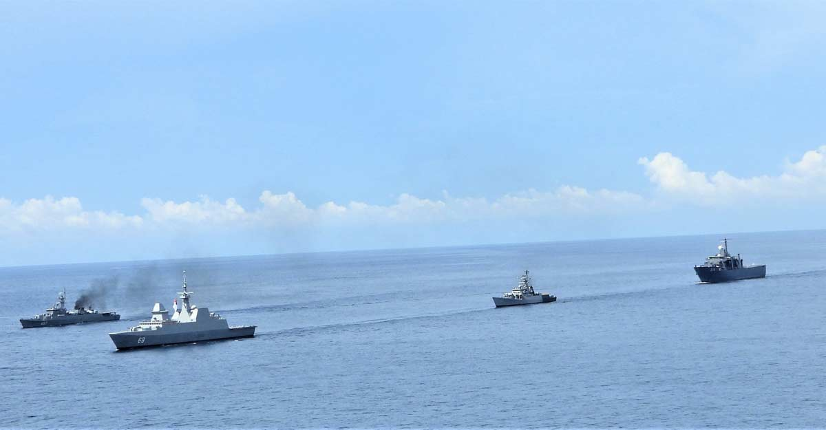 SITMEX-20: Joint naval exercise between India, Singapore & Thailand on