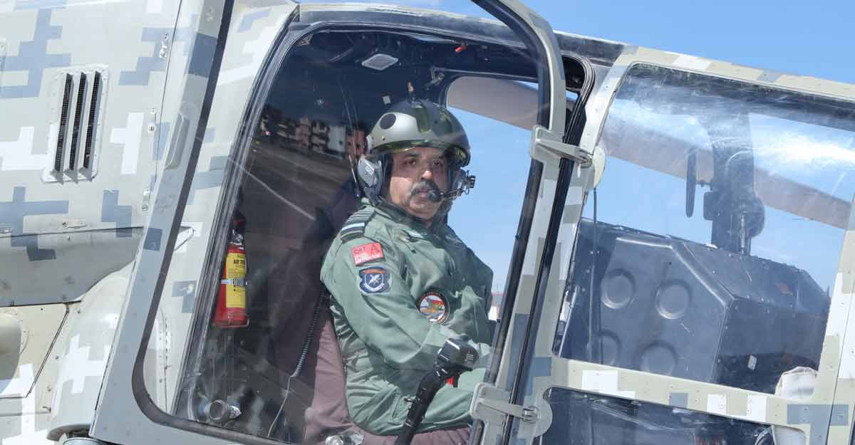 At IAM, Bhadauria reiterates IAF's commitment to put doctors back into cockpit