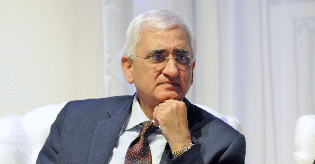 No leadership crisis in Congress; support for Sonia, Rahul apparent to anyone not blind: Khurshid