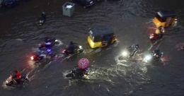 Chennai roads inundated as cyclone Nivar triggers intermittent rain