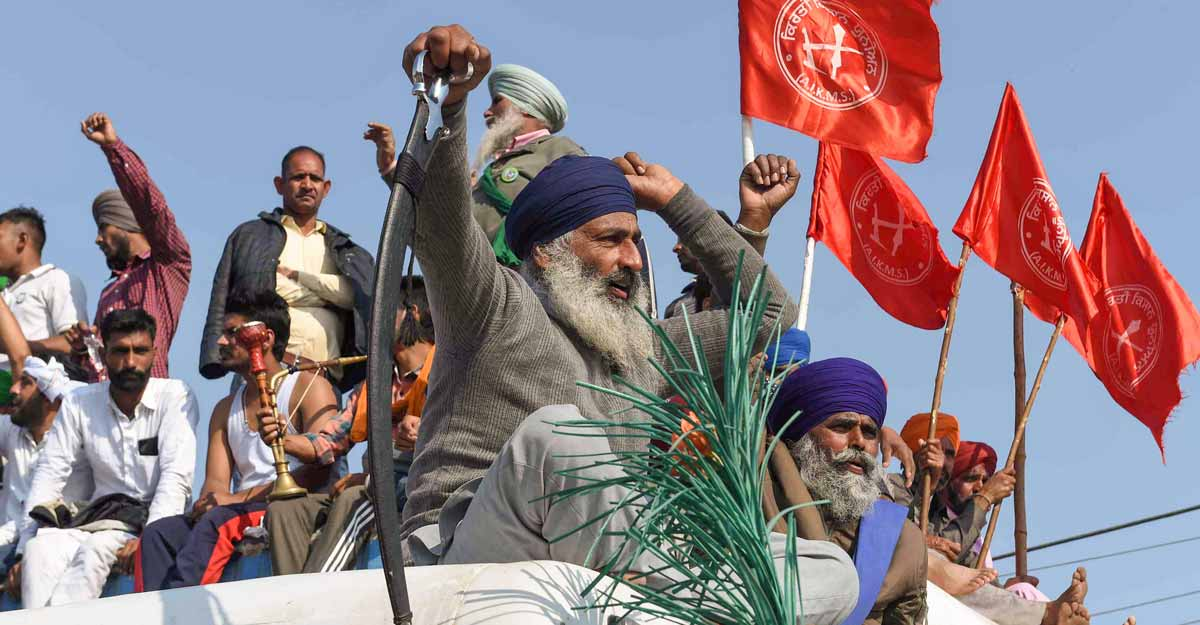 Agitating farmers reject 'conditional' dialogue; threaten to block entry points to Delhi