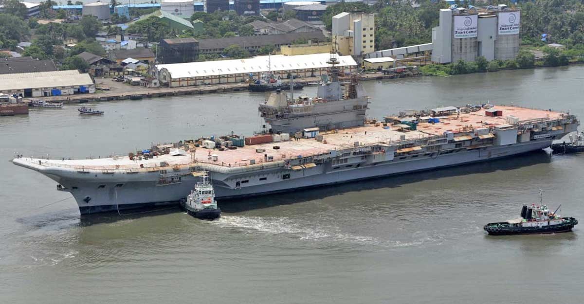 Basin trials of IAC Vikrant successfully completed at Cochin Shipyard, sea trials next