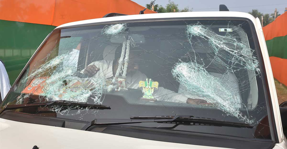 MHA summons West Bengal chief secy, DGP a day after attack on BJP chief's convoy