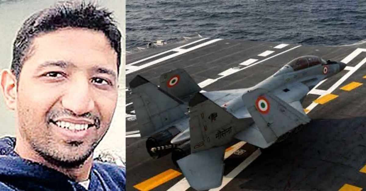 Navy recovers body of missing pilot near MiG crash site