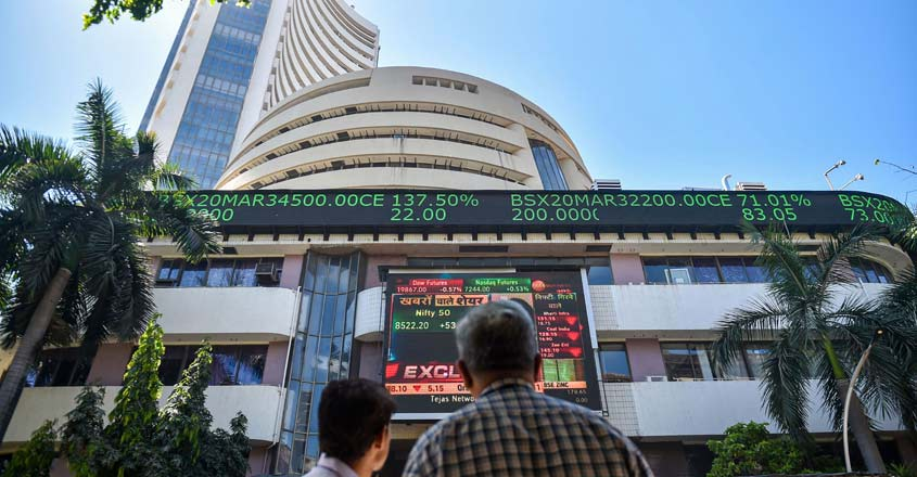 Sensex scales 45,000-mark for first time on RBI boost