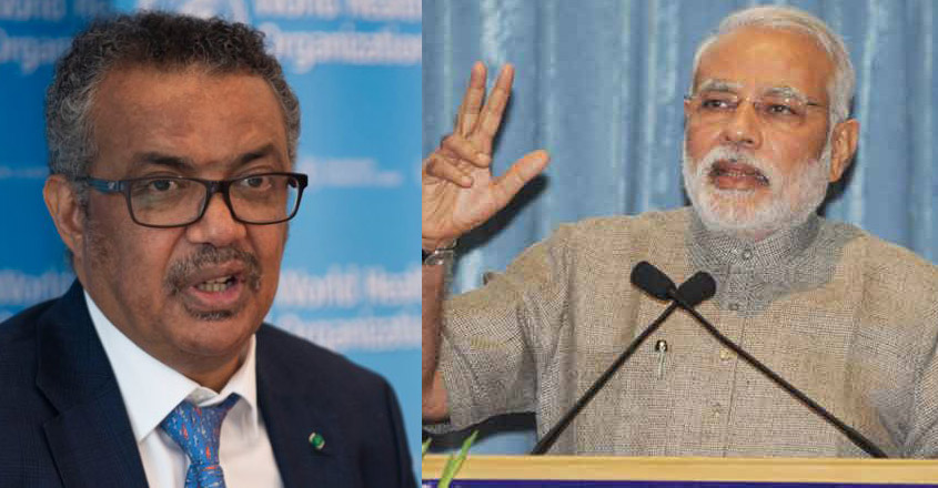 WHO chief hails Modi's assurance of India's vaccine production prowess in COVID fight