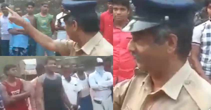 This Kerala cop is winning hearts for sensitising migrant labourers about COVID-19