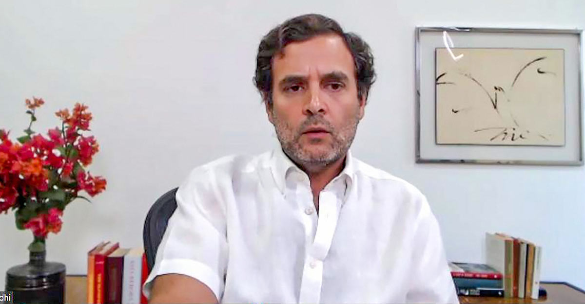 Centre's COVID-19 lockdown strategy has failed: Rahul Gandhi