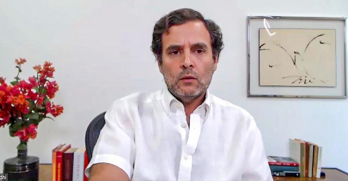 BJP institutionalised lies on three issues: Rahul Gandhi